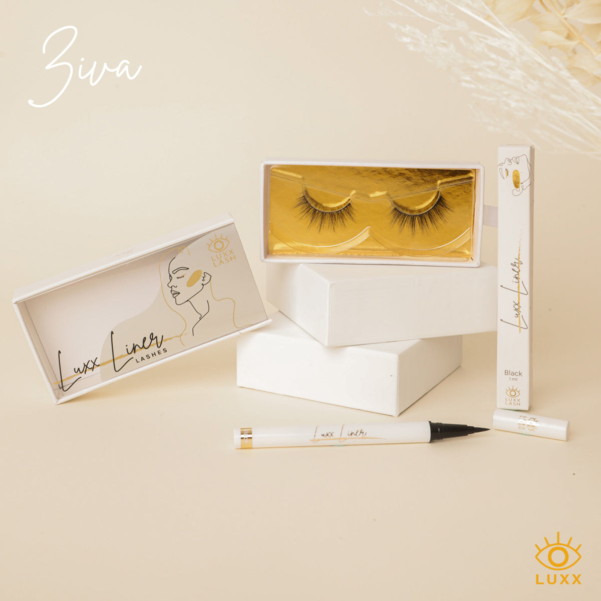 Ziva #LuxxLineAndLash Bundle