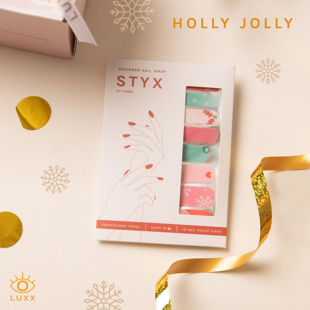 Holly Jolly STYX Nail Wraps (Holiday Limited Edition)