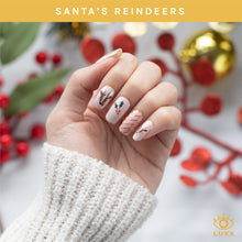Load image into Gallery viewer, Santa's Reindeer STYX Nail Wraps (Holiday Limited Edition)