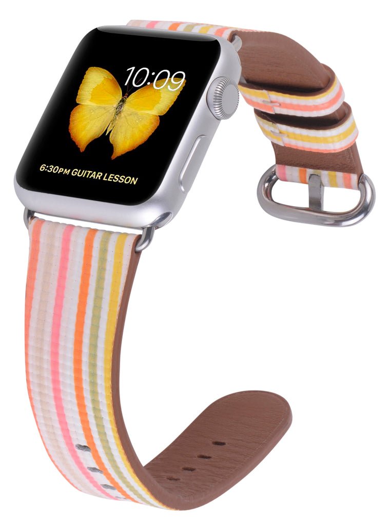 Apple watch band 38mm 40mm Colorful Stripe