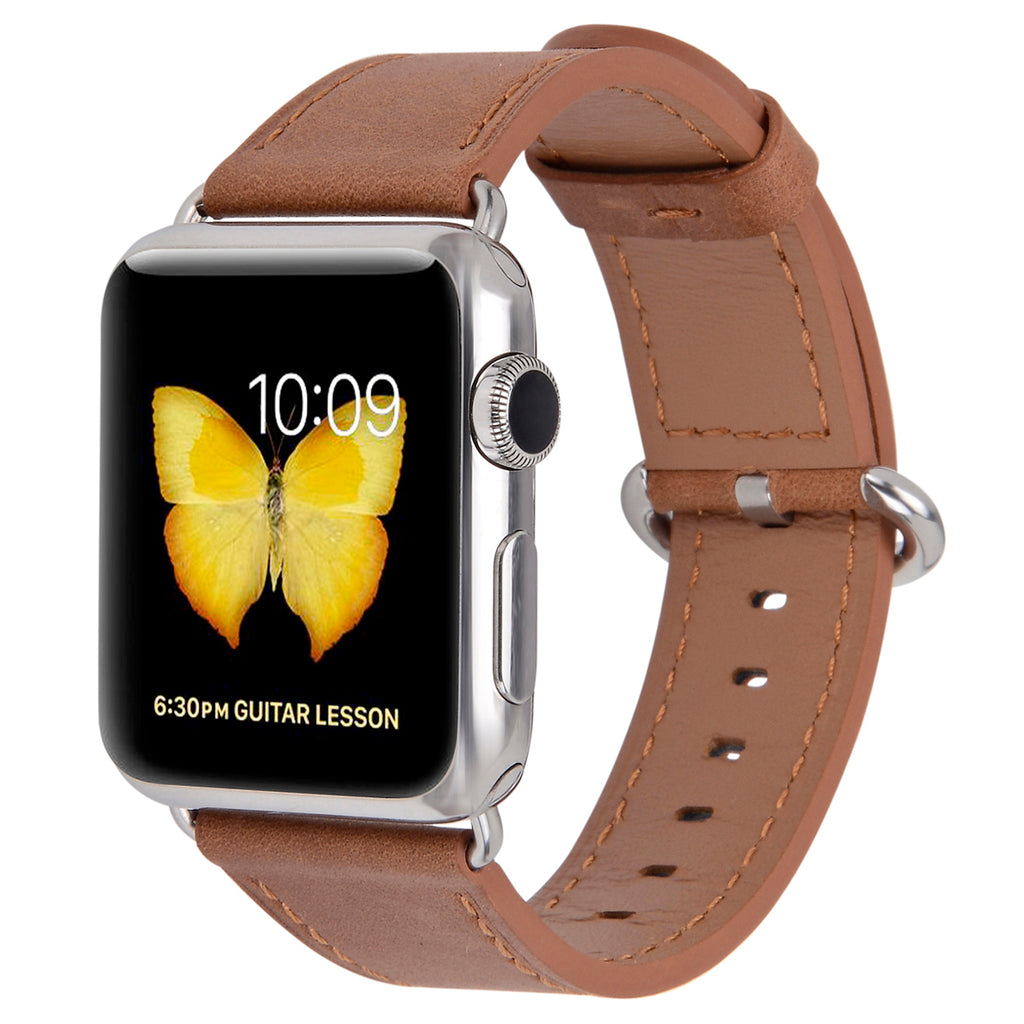 Apple watch band 38mm 40mm 42mm 44mm Caramel