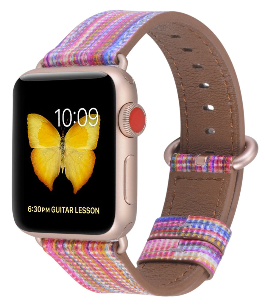 Apple watch band 38mm 40mm 42mm 44mm Rainbow