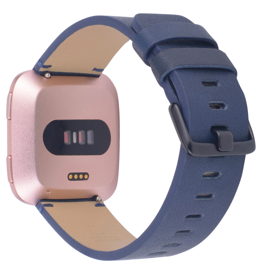 Fitbit versa bands Genuine Leather Cognac