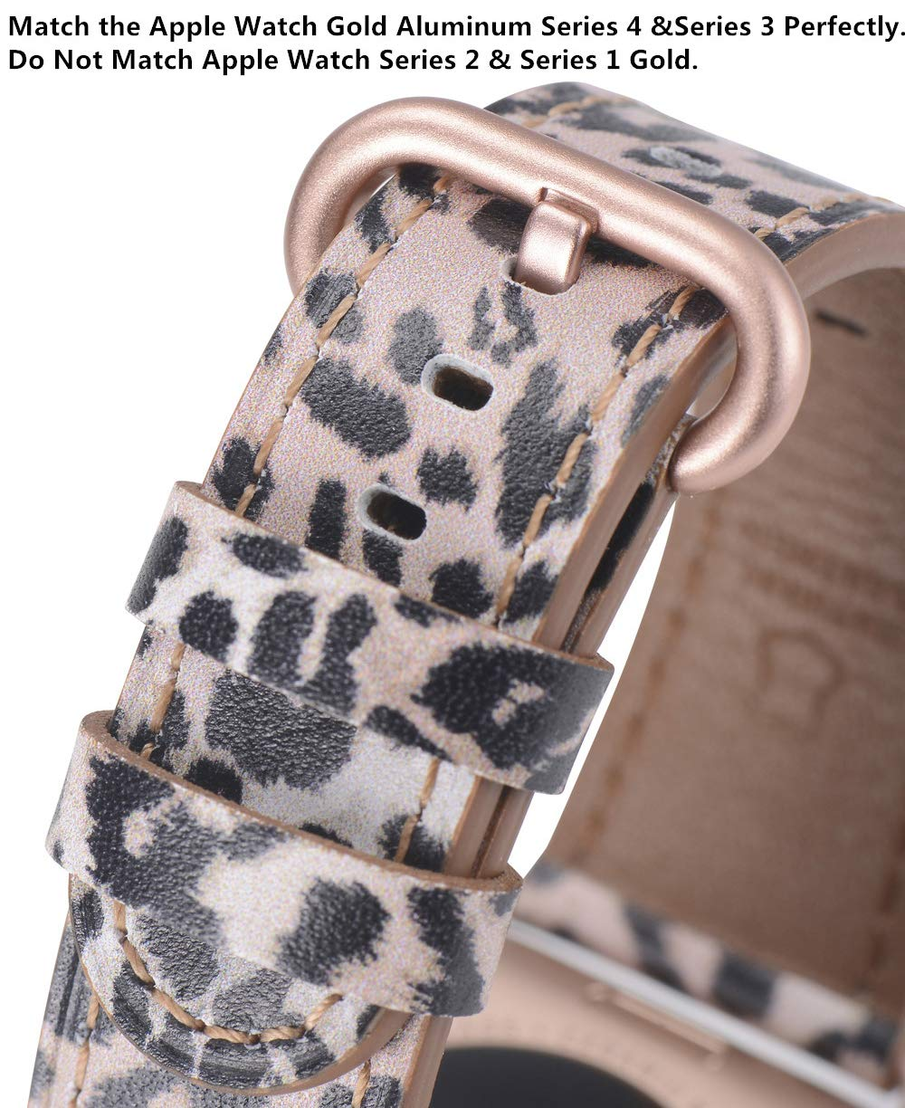 Apple watch band 38mm 40mm Leopard