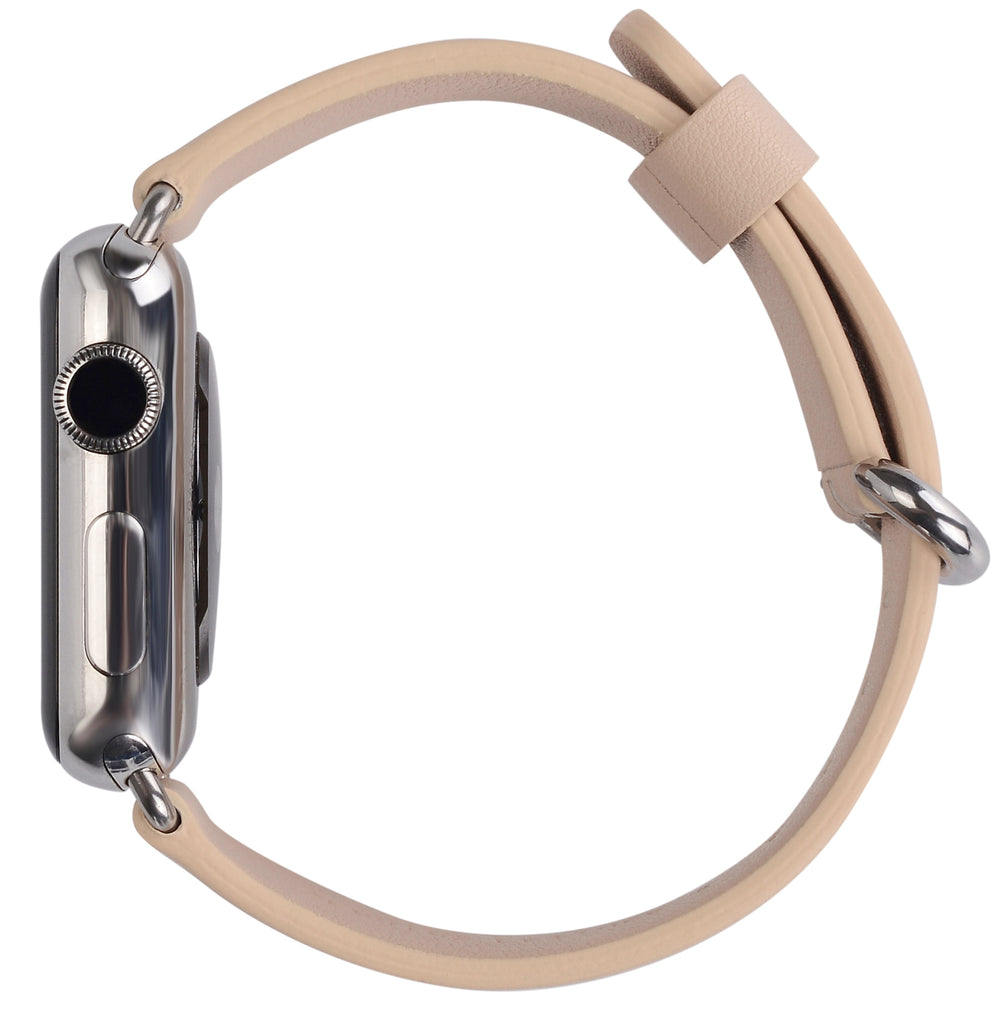Apple watch band 38mm 40mm 42mm 44mm Beige