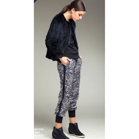 Printed Jogger sweatpant - Vishal Enterprises Inc