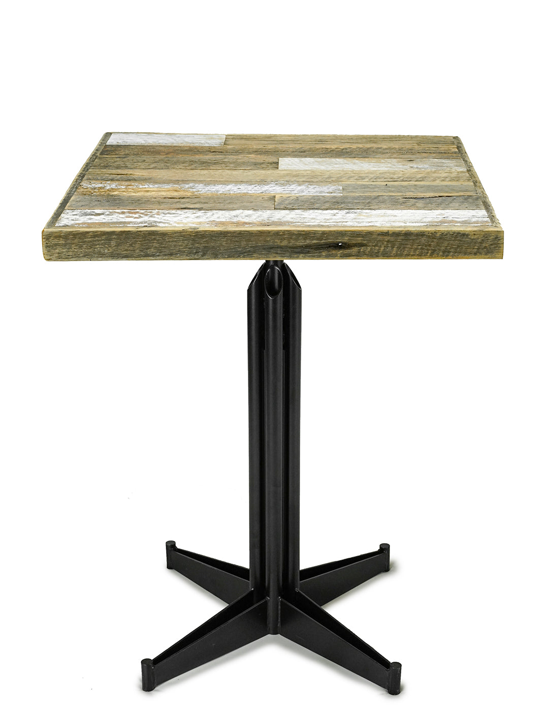 HARDWOOD Table Top - Industrial Finish - No Gap