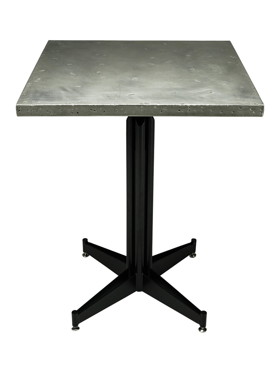 CAFE table top - Antique Stainless Steel