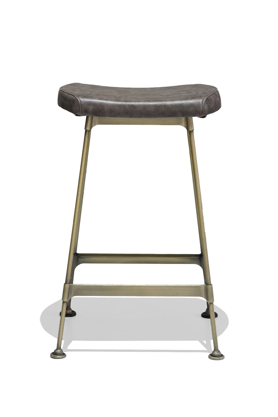HUBERT kitchen stool - upholstered