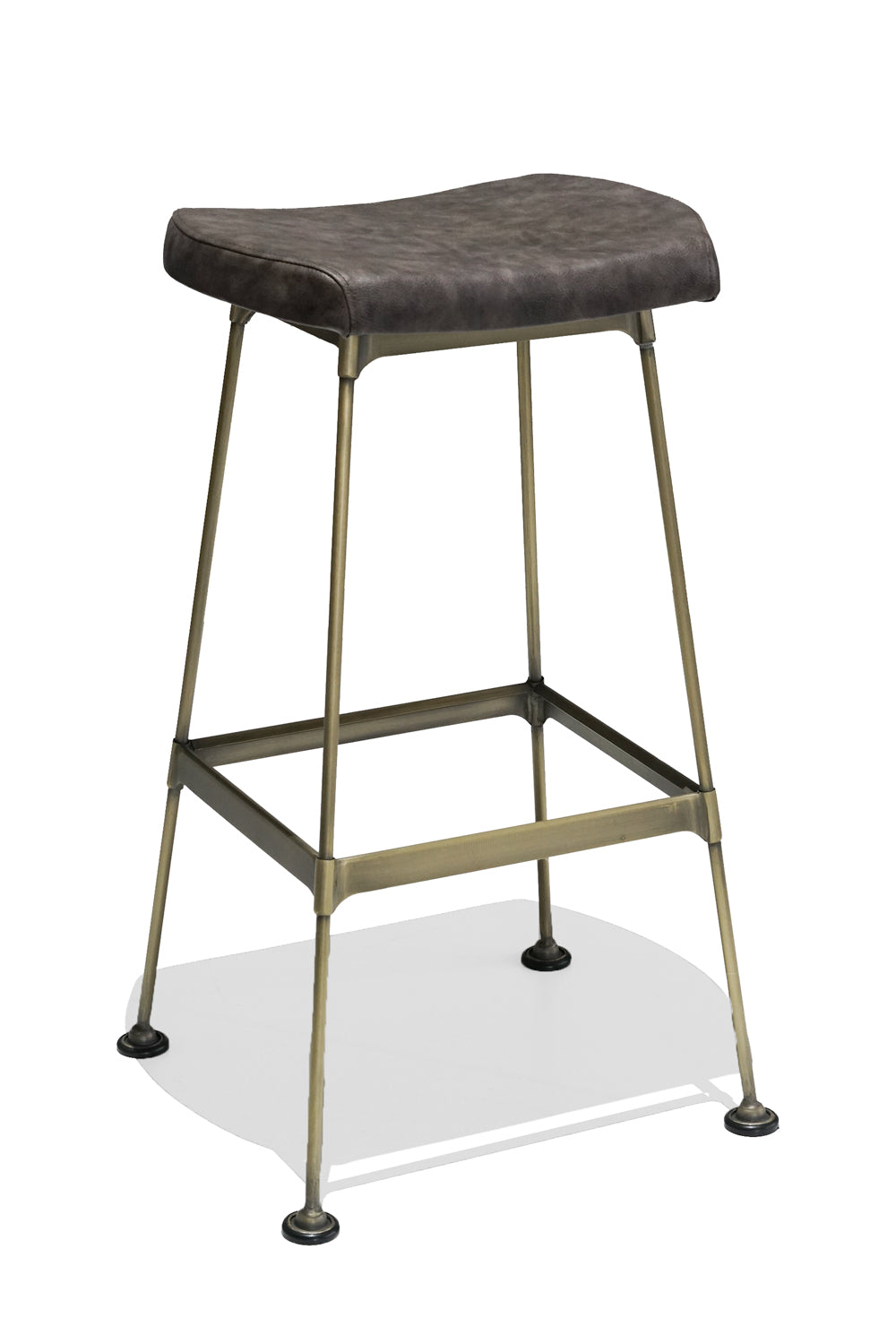 HUBERT bar stool - upholstered