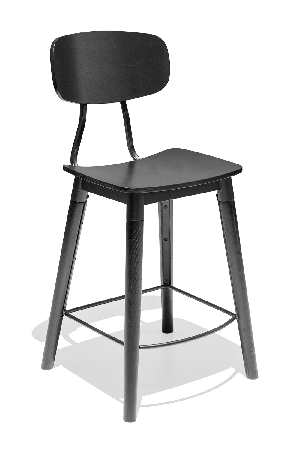 FRENCH INDUSTRIAL kitchen stool