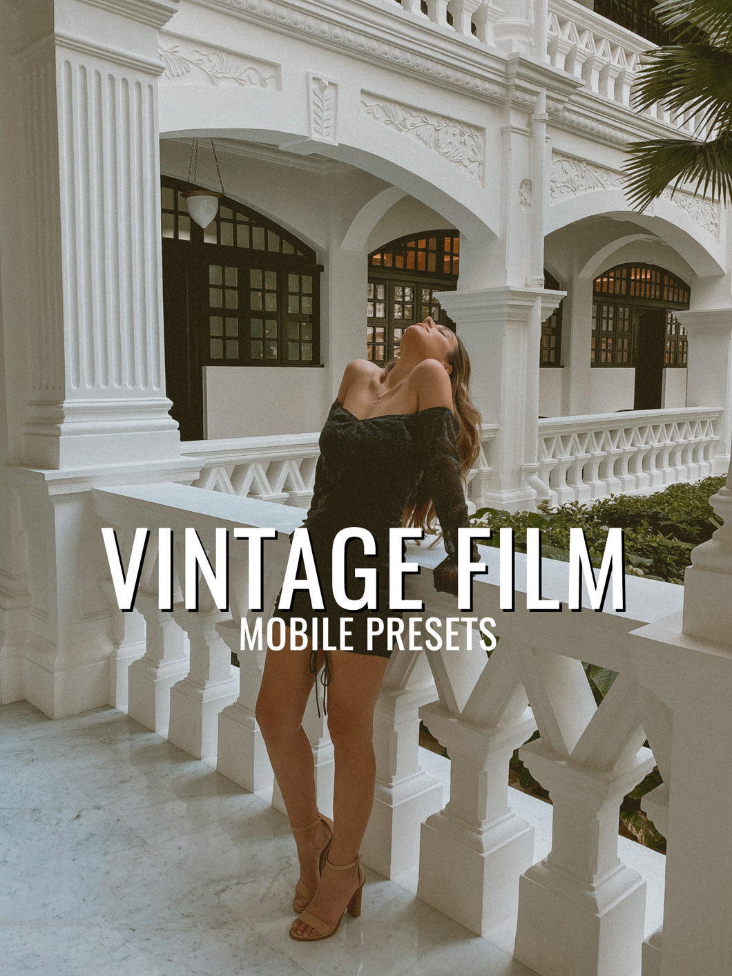 Vintage Film Mobile Presets + Story Stickers