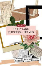 Load image into Gallery viewer, Vintage Film Mobile Presets *NEW* + Story Stickers