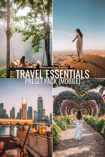 Travel Essentials Preset Pack (Mobile)