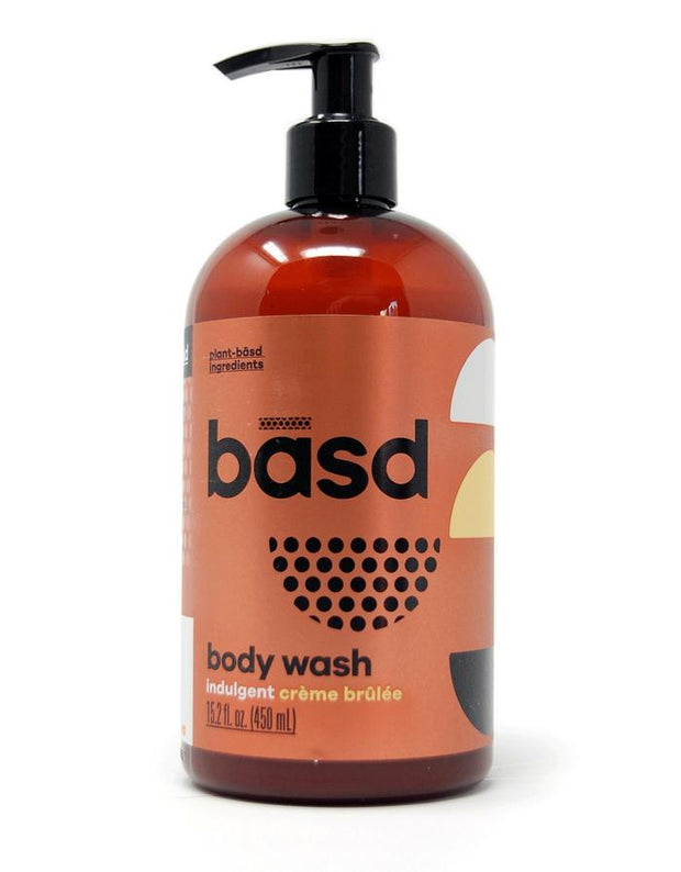 Handmade and Natural Body wash Basd Body Care Indulgent crème brûlée body wash