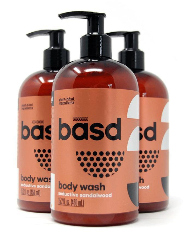 Handmade and Natural Body wash Basd Body Care Seductive Sandalwood Body Wash