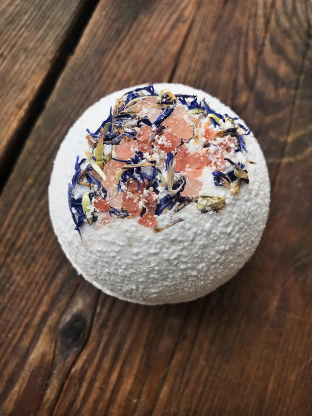 Handmade and Natural Bath Bomb Bombs Away - Natural Bath & Co. Eucalyptus & Sweet Orange Bath Bomb