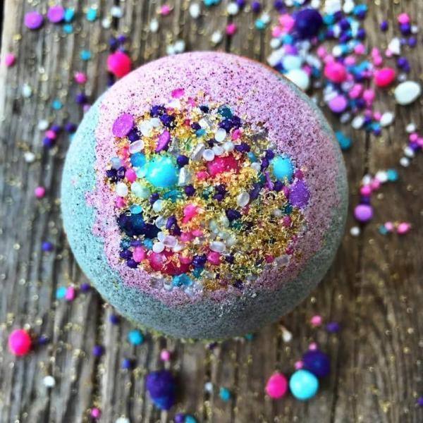 Handmade and Natural Bath Bomb Bombs Away - Natural Bath & Co. The Unicorn Bath Bomb