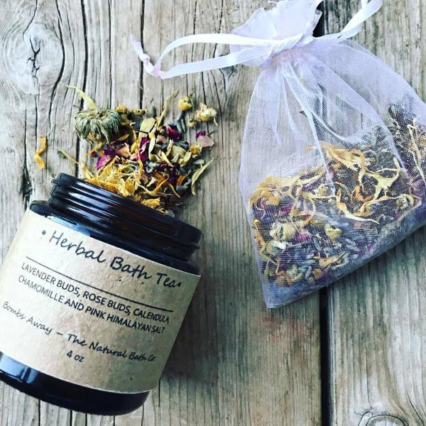 Handmade and Natural Bath Salts Bombs Away - Natural Bath & Co. Herbal Bath Tea