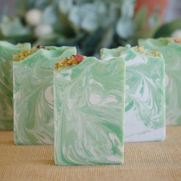 Handmade Aloevera Vegan Natural Soap