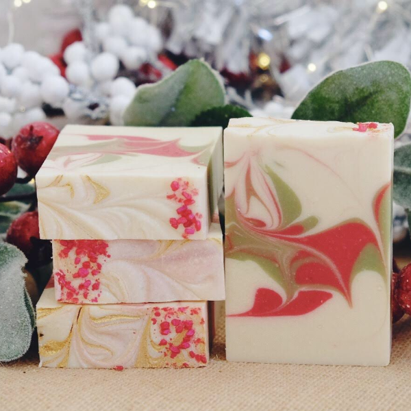 Handmade and Natural Soap Lather & Company Apple & Sage Vegan Soap