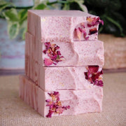 Handmade and Natural Soap Lather & Company Bed of Roses Vegan Soap