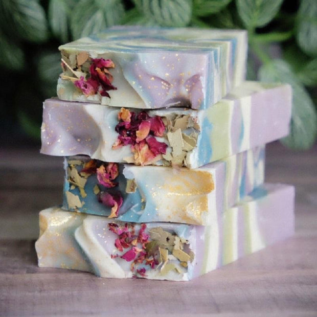 Handmade and Natural Soap Lather & Company Medicine Bar Vegan Soap