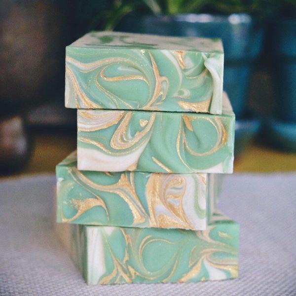 Mint to Be Vegan Soap