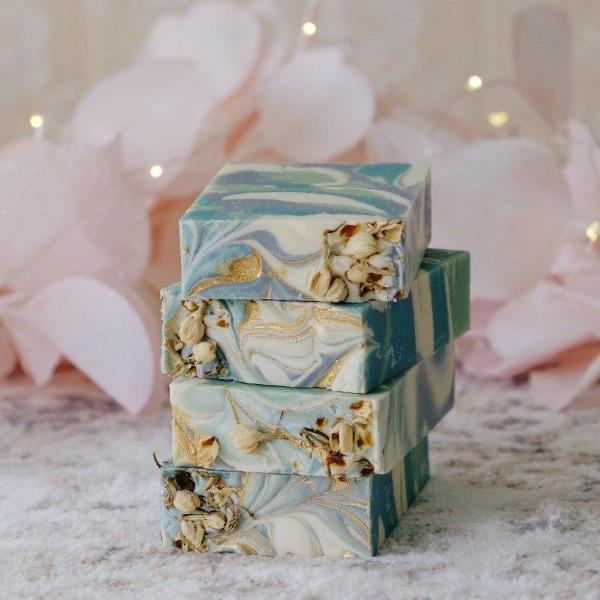 Handmade and Natural Soap Lather & Company Night Blooming Jasmine Vegan Soap