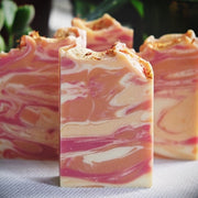 Handmade and Natural Soap Lather & Company Orange Blossom Vegan Soap