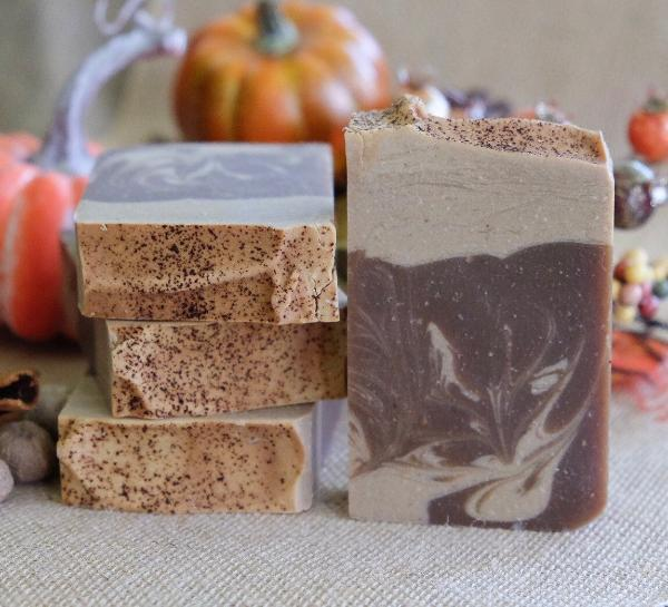 Handmade and Natural Soap Lather & Company Pumpkin Pie Vegan Soap