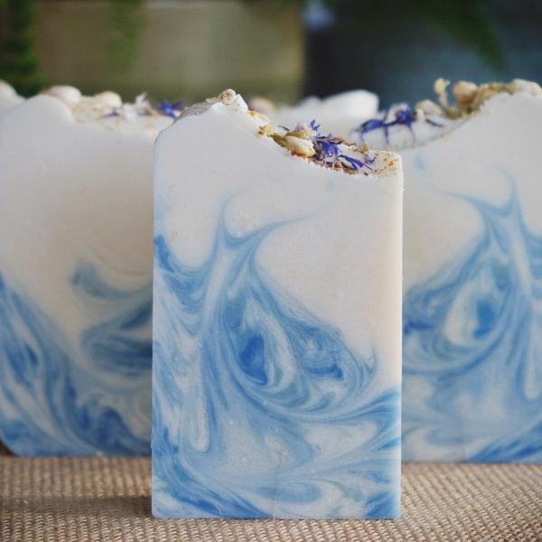 Handmade and Natural Soap Lather & Company Serenity Vegan Soap