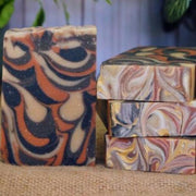 Handmade and Natural Soap Lather & Company Woodsman Vegan Soap