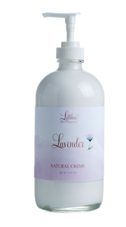 Handmade and Natural Body Lotion Latika Body Essentials Lavender Body Crème