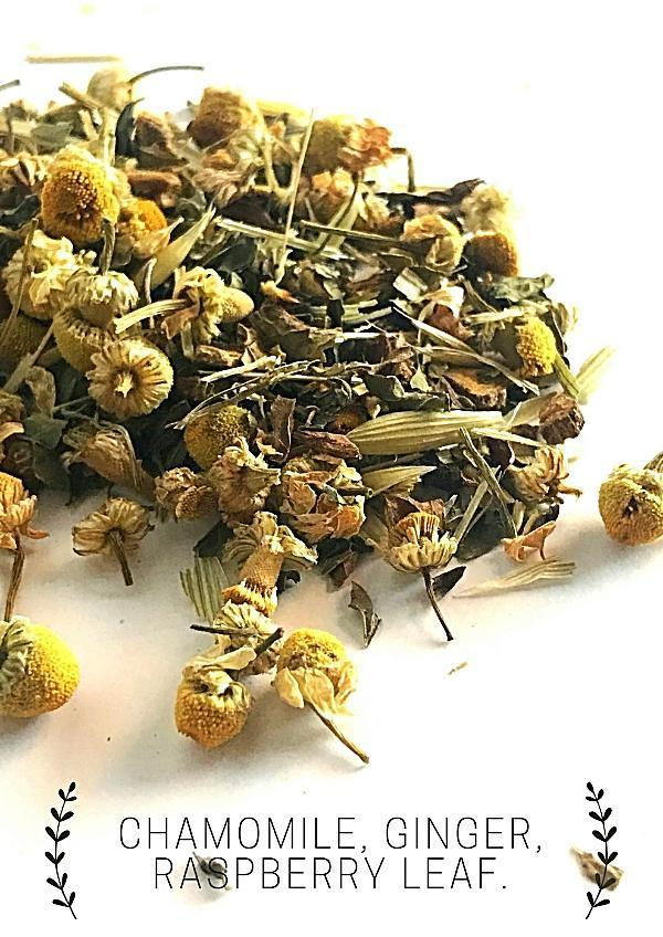 Handmade and Natural Herbal Tea Luna Tea Co. Calm The Viking Loose Tea