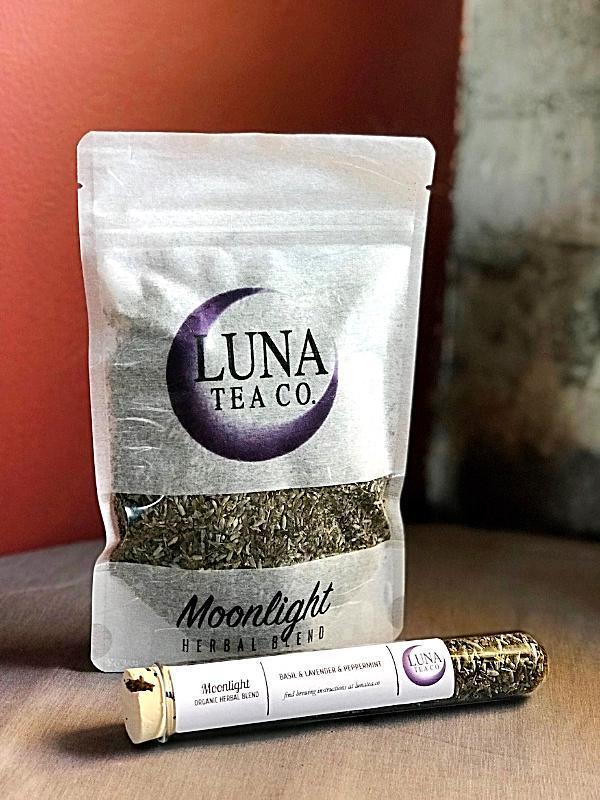 Handmade and Natural Herbal Tea Luna Tea Co. Moonlight Loose Tea