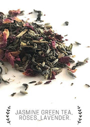Handmade and Natural Herbal Tea Luna Tea Co. Queen Green Loose Tea