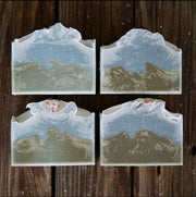 Handmade and Natural Soap Muddy Mint Sea Salt & Kelp Soap
