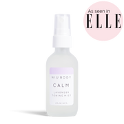 Handmade and Natural Facial Mist NIU Body Calm Lavender Toning Mist
