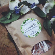 Handmade and Natural Bath Salts Nuturing Soul Alleviate Himalayan Bath Salts