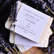 Handmade and Natural Soap Nuturing Soul Lavender & Oat Soap