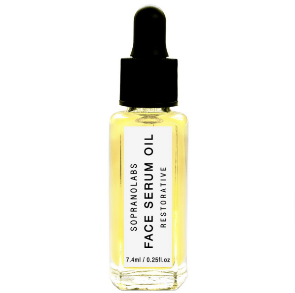 Handmade and Natural Facial Serums SopranoLabs Restorative Jasmine Face Serum
