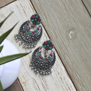 Jhumka Earrings - Stones - The Serene Life