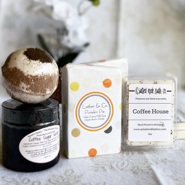 Handmade and Natural Gift Set The Serene Life Coffee Lovers Set