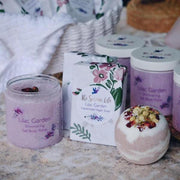Handmade and Natural Gift Set The Serene Life The Lilac Garden Set