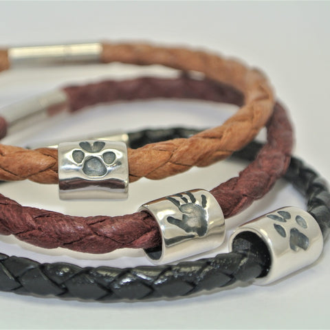 Mens Jewellery with Handprints
