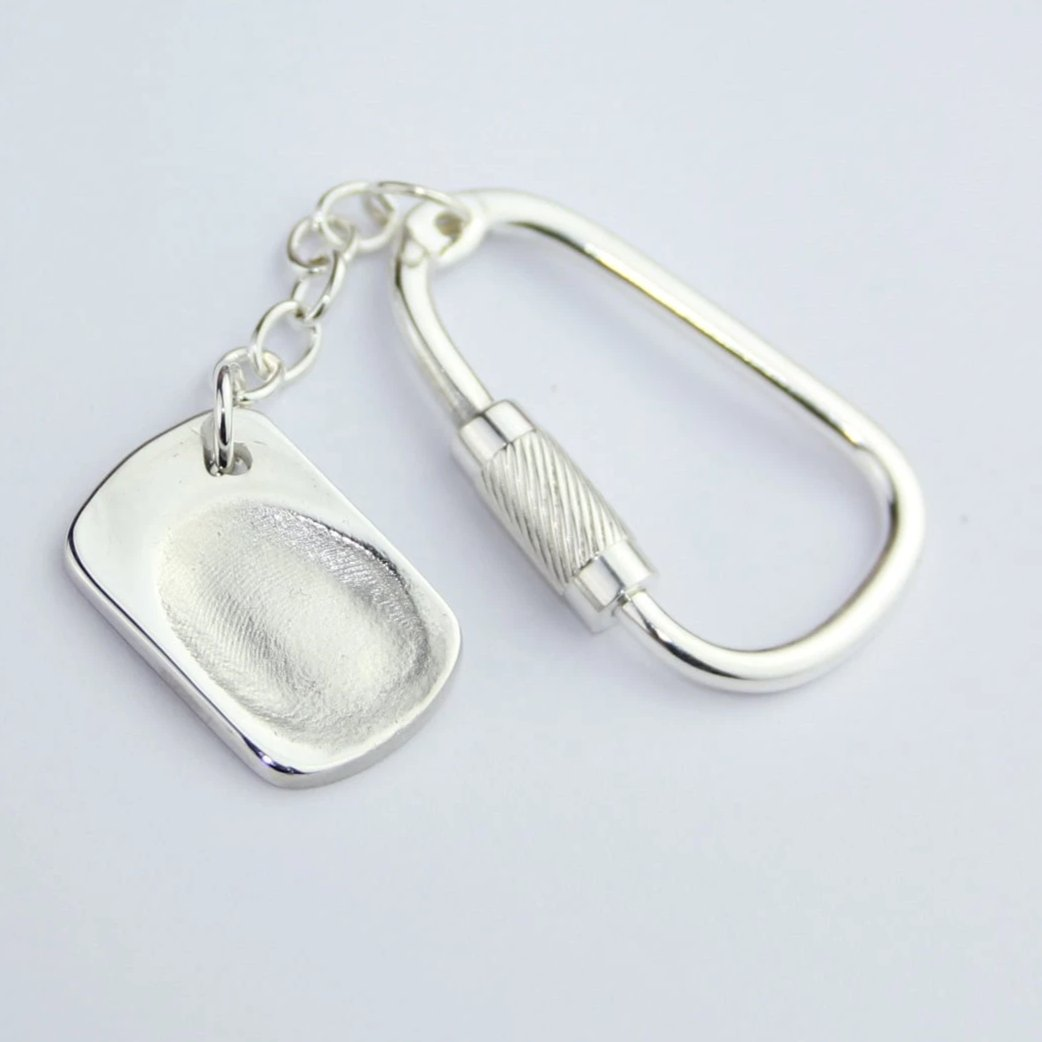 Fingerprint Jewellery Keyring