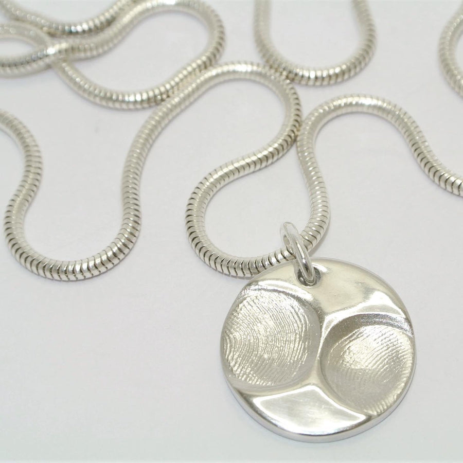 Baby personalised necklace Fingerprint necklace