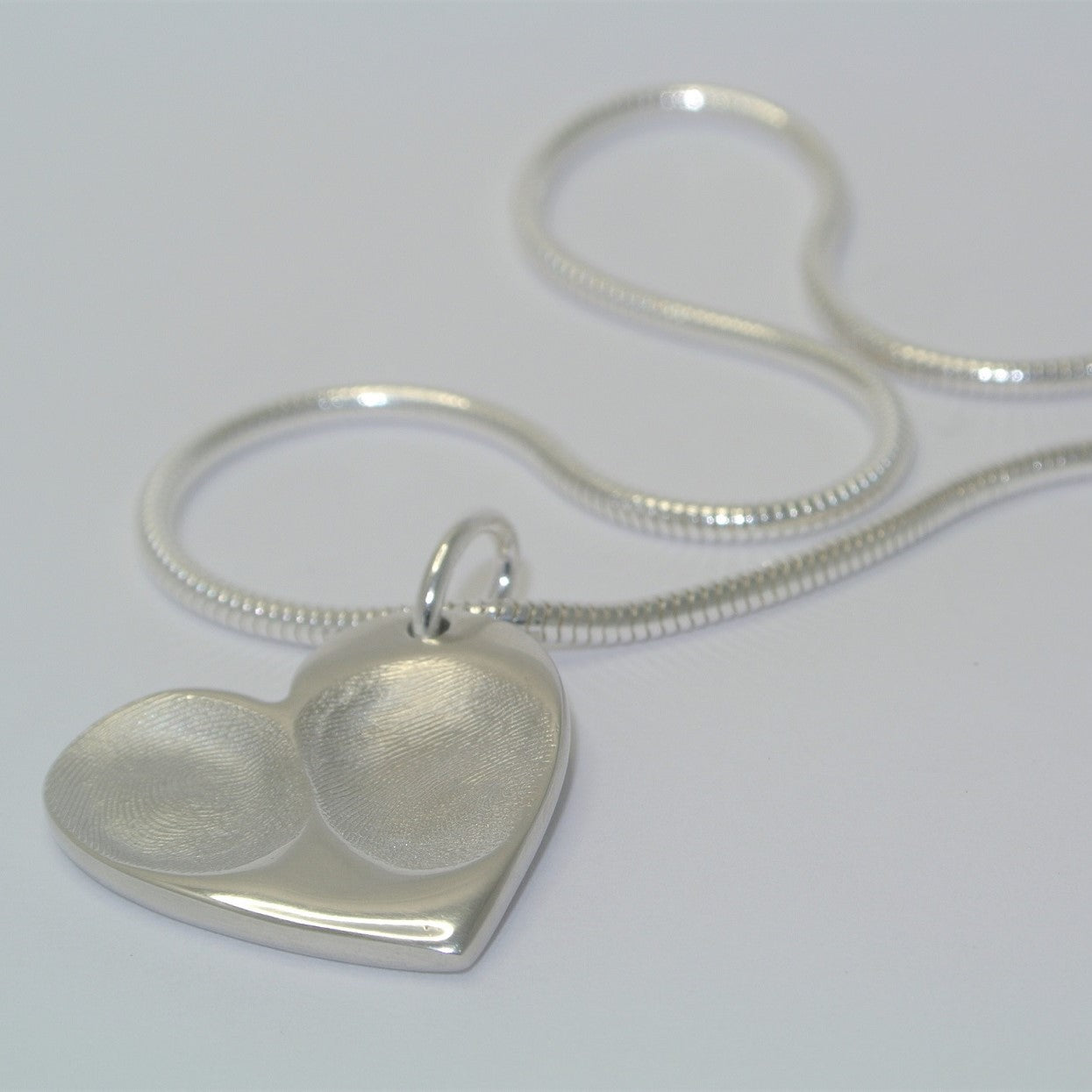 Fingerprint Jewellery Workshop - Booking and Deposit - Wed 16th October - Leaf & Bean Cafe