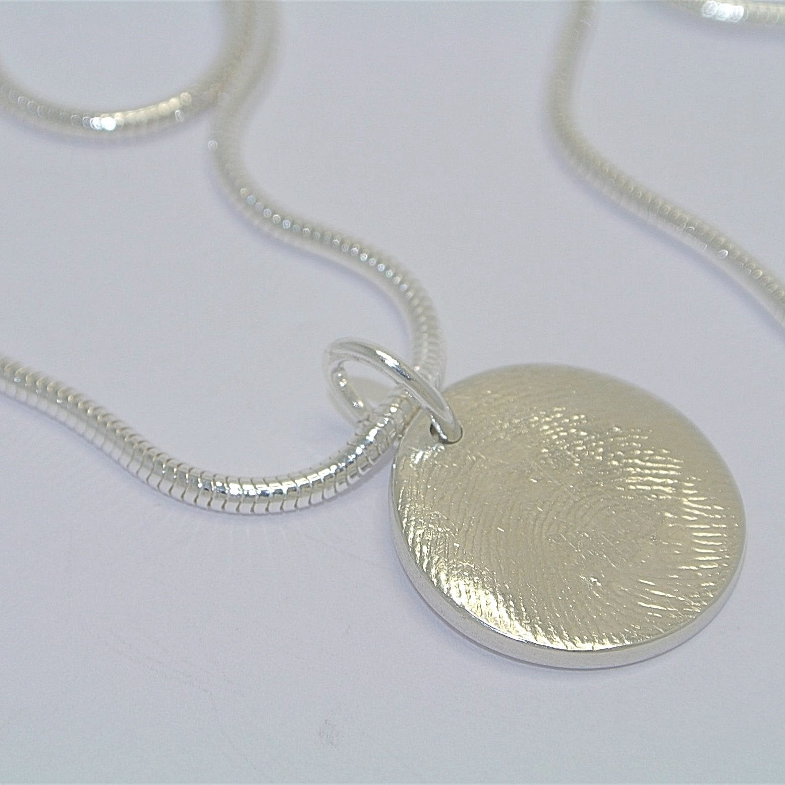 Full Fingerprint Necklace